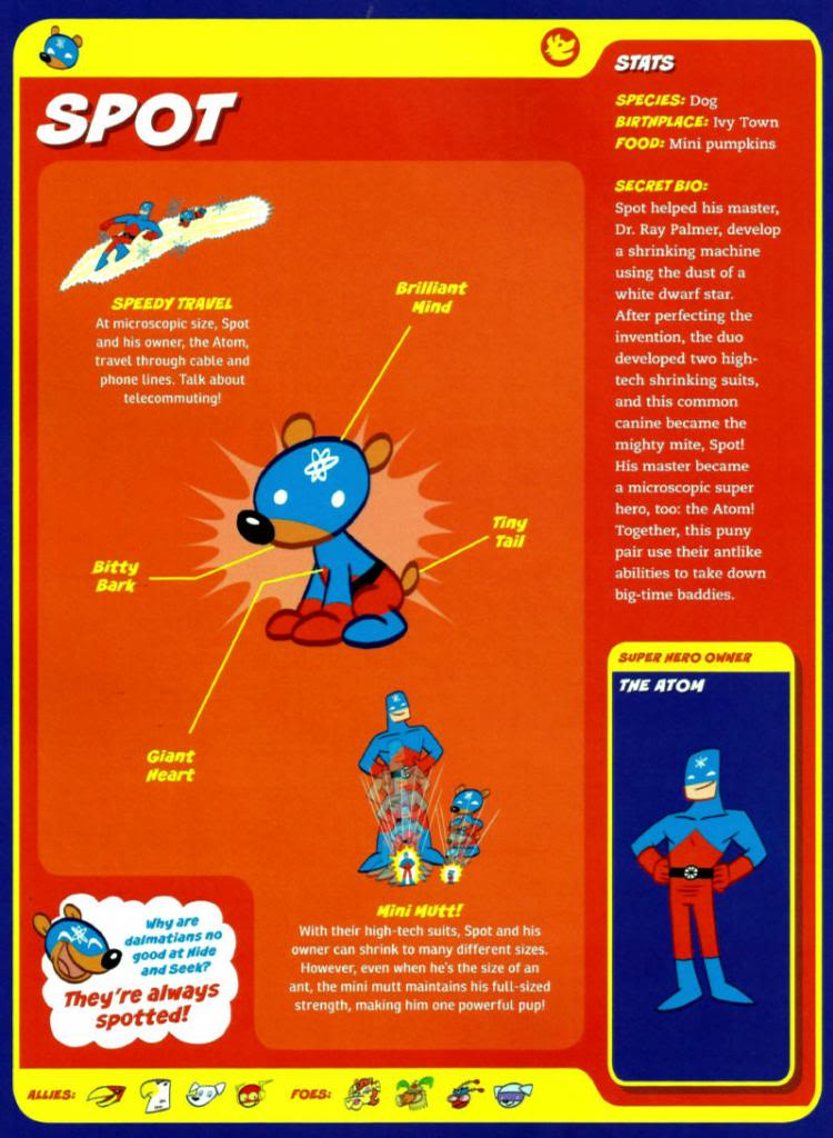 Canidae Mimicry-Cap-Spot-Atom-Capstone's DC Super-Pets Character Encyclopedia