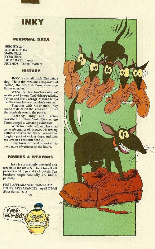 Canidae Mimicry-Inky-TMNT Mutant Universe Sourcebook #3