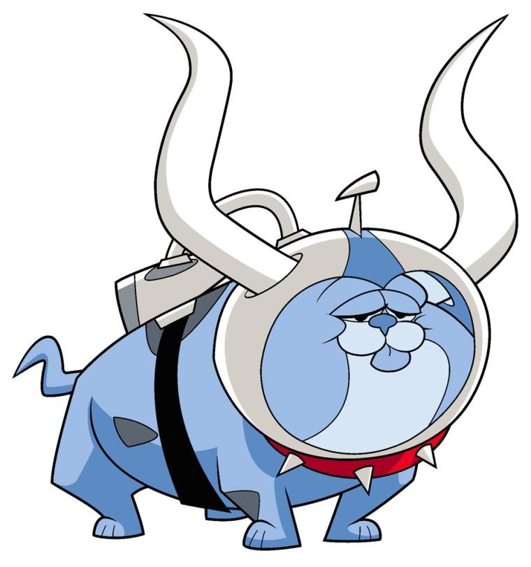 Canidae Mimicry-Krypto the Super Dog-Dog Star Patrol-Bull Dog