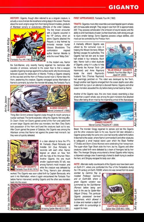 Cetacean Mimicry-Giganto-Marvel Pets Handbook #01