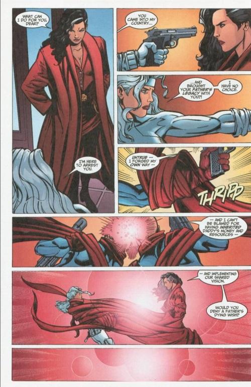 Cloth Manipulation-Skein-Thunderbolts #67 (Marvel)