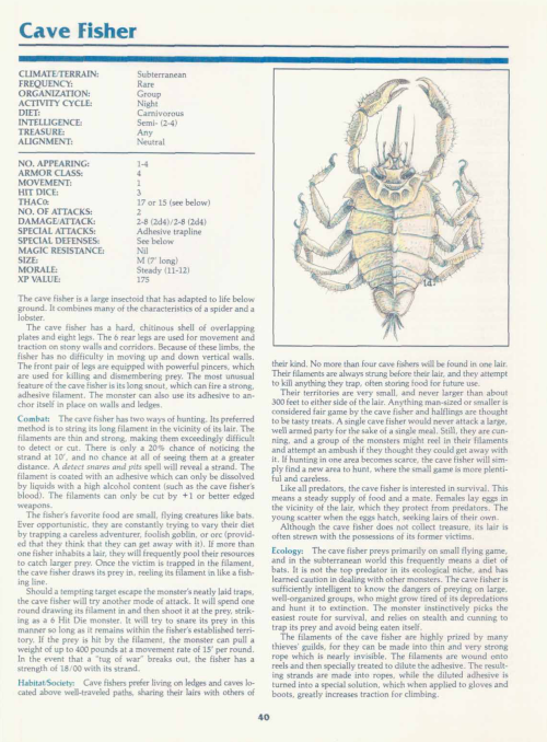 crustacean-mimicry-cave-fisher-tsr-2140a-monstrous-manual