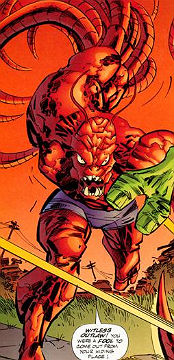 Crustacean Mimicry-Crustacean-Savage Dragon