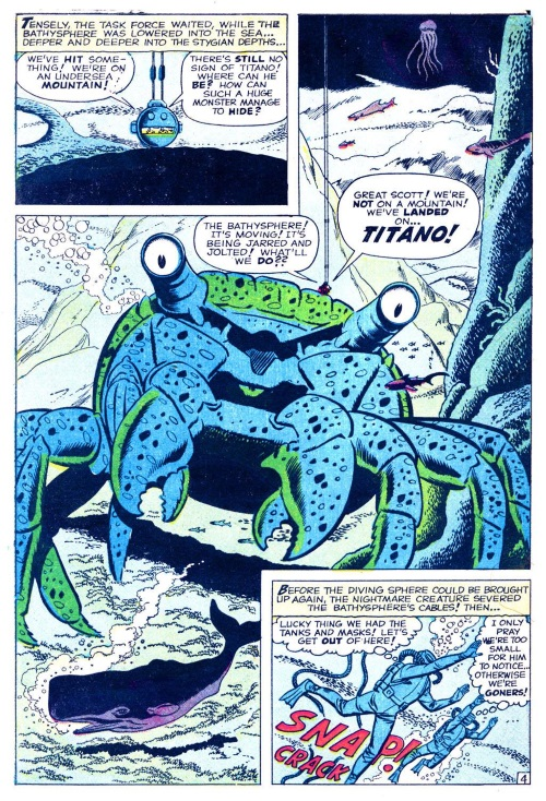Crustacean Mimicry-Titano-Tales To Astonish V1 #10