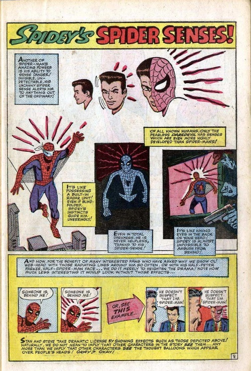 Danger Intuition-Spider-Man-Annual Amazing Spider-Man #1