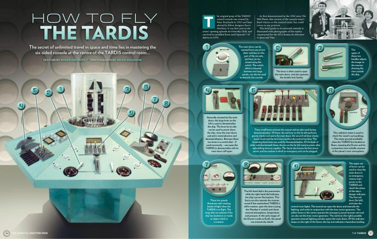 Dimensional Storage-Doctor Who Magazine-The Essential Doctor Who Issue-The Tardis #2 (2014)