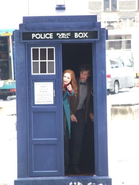 Dimensional Storage-TARDIS Exterior