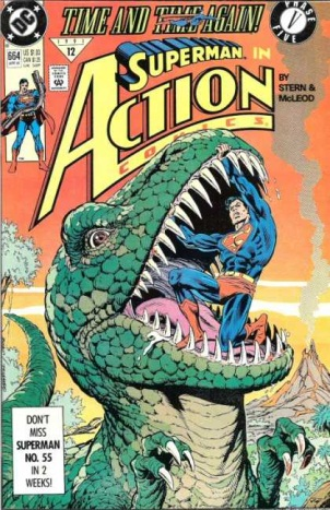Dinosaur Mimicry-OS-Action Comics #664