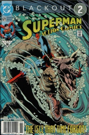 Dinosaur Mimicry-OS-Action Comics #671