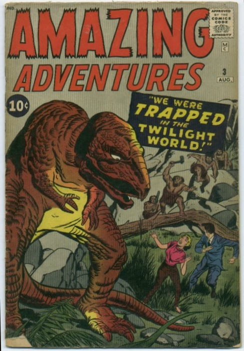 Dinosaur Mimicry-OS-Amazing Adventures V1 #03