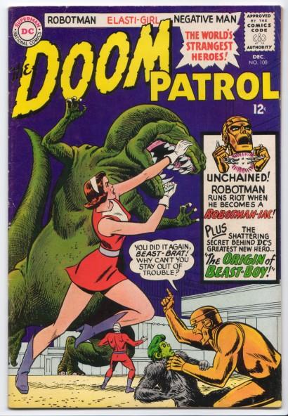 Dinosaur Mimicry-OS-Doom-Patrol V1 #100