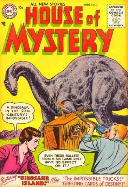 Dinosaur Mimicry-OS-House of Mystery V1 #41