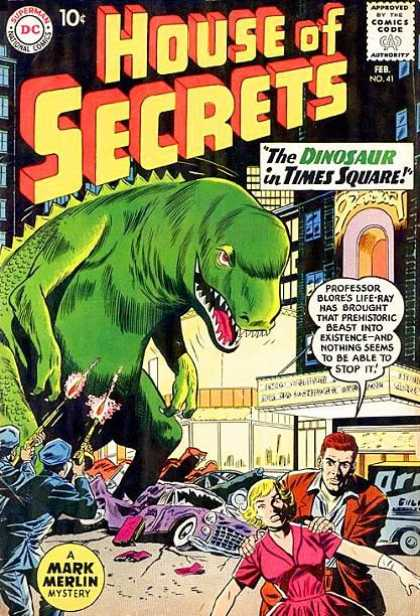 Dinosaur Mimicry-OS-House of Secrets V1 #41