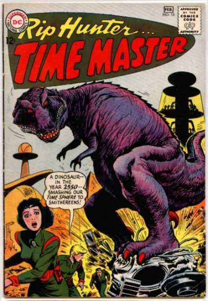 Dinosaur Mimicry-OS-Rip Hunter Time Master #18