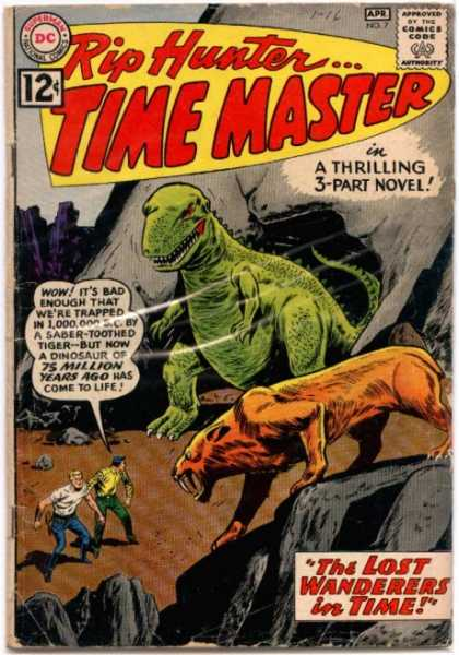 Dinosaur Mimicry-OS-Rip Hunter Time Master #7