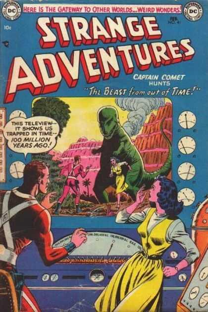 Dinosaur Mimicry-OS-Strange Adventures V1 #41