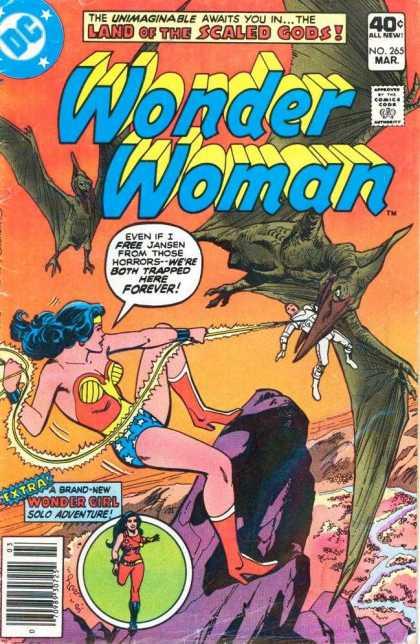 Dinosaur Mimicry-OS-Wonder Woman V1 #265