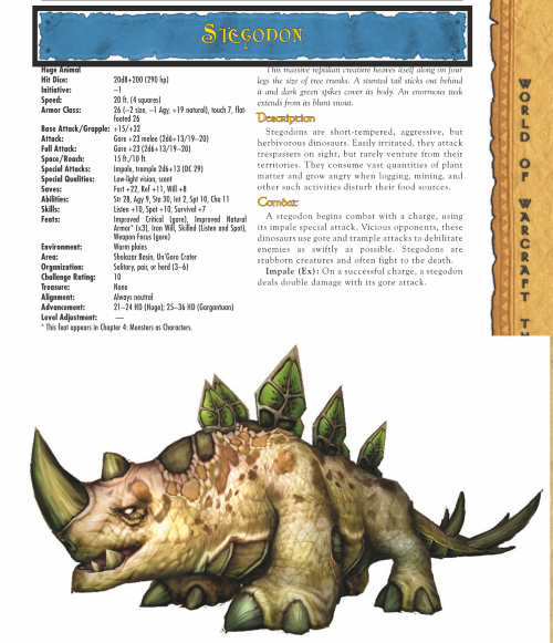 dinosaur-mimicry-wow-stegodon-world-of-warcraft-monster-guide