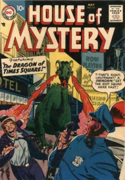 Dragon Mimicry-OS-House of Mystery V1 #74