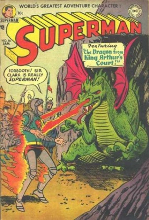 Dragon Mimicry-OS-Superman V1 #86
