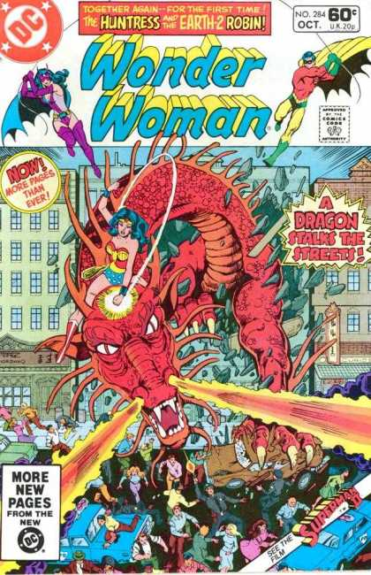 Dragon Mimicry-OS-Wonder Woman V1 #284