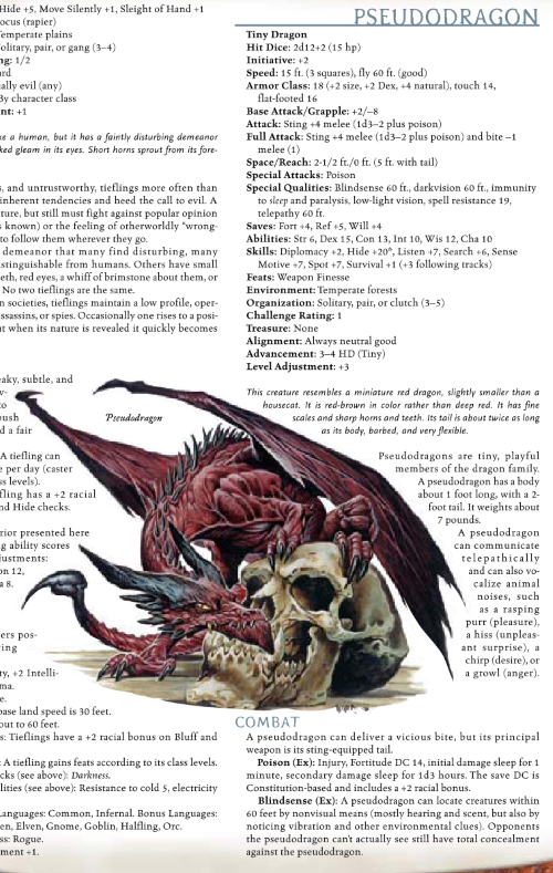 dragon-mimicry-pseudodragon-dd-3-5-monster-manual-i