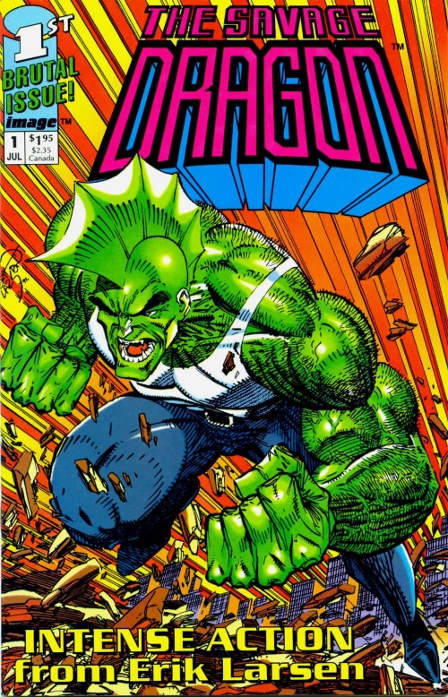 Dragon Mimicry-The Savage Dragon #1