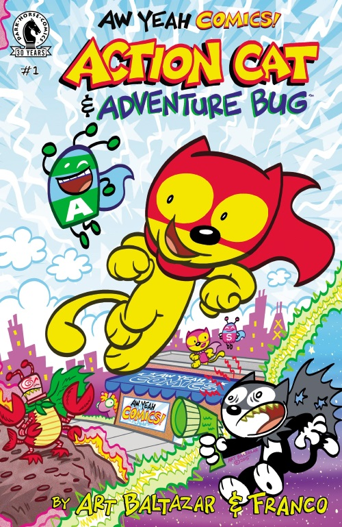 Felidae Mimicry-Action Cat & Adventure Bug #1 (Aw Yeah)