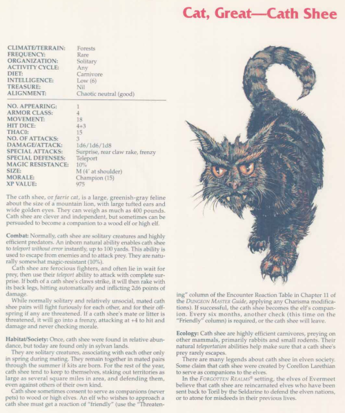 felidae-mimicry-cath-shee-tsr-2158-monstrous-compendium-annual-volume-2