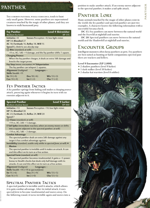 felidae-mimicry-fey-panther-dd-4th-edition-monster-manual-1