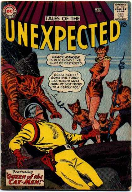 Felidae Mimicry-XOS-Tales of the Unexpected V1 #80
