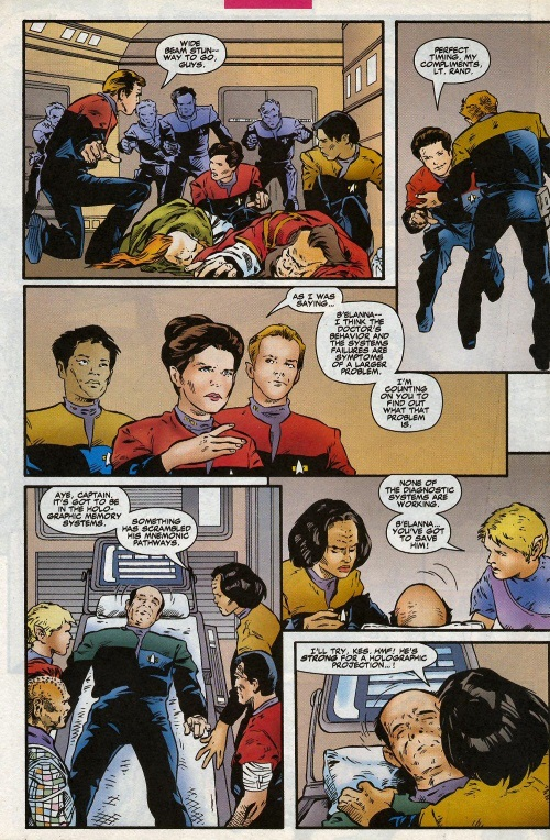 Holograph Mimicry–Star Trek Voyager #3 (Marvel)