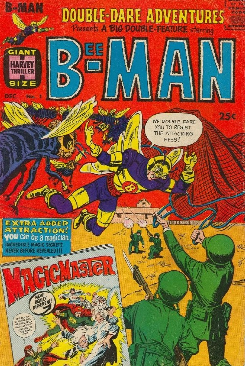 Insect Control–Bee-Man-Double-Dare Adventures #1 (Harvey)