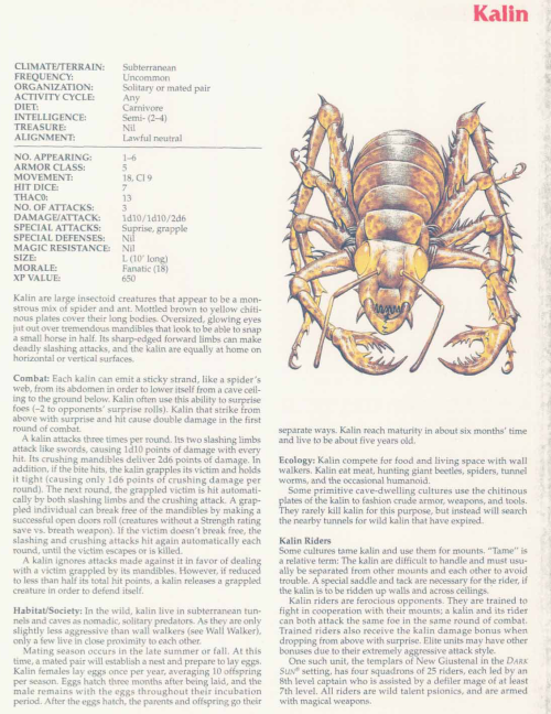 insect-mimicry-kalin-tsr-2158-monstrous-compendium-annual-volume-2