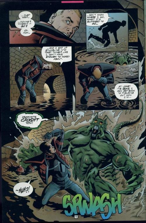 Insect Mimicry–Abominite-Doctor Strangefate #8 (Amalgam)