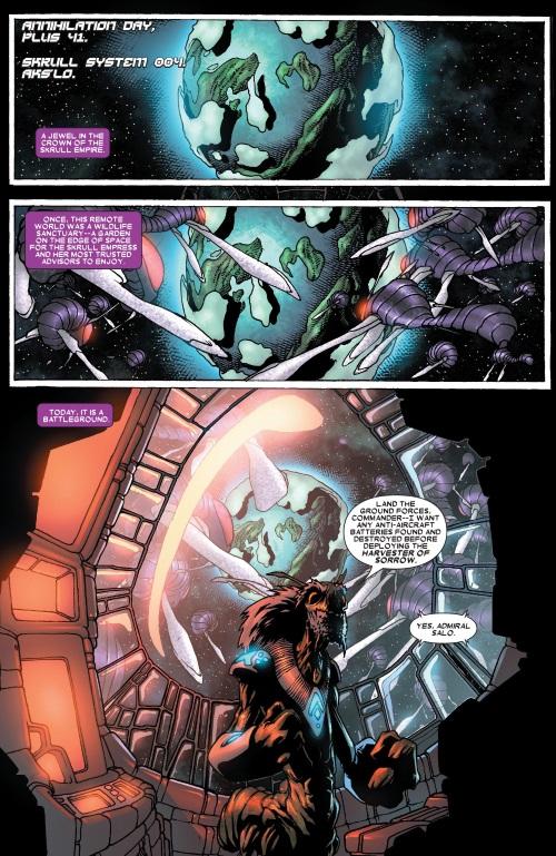 Insect Mimicry–Admiral Salo-Annihilation - Super Skrull #1
