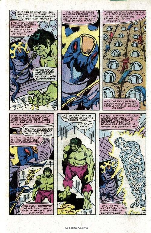 Insect Mimicry–Ba't'll-Incredible Hulk V1 #273-2