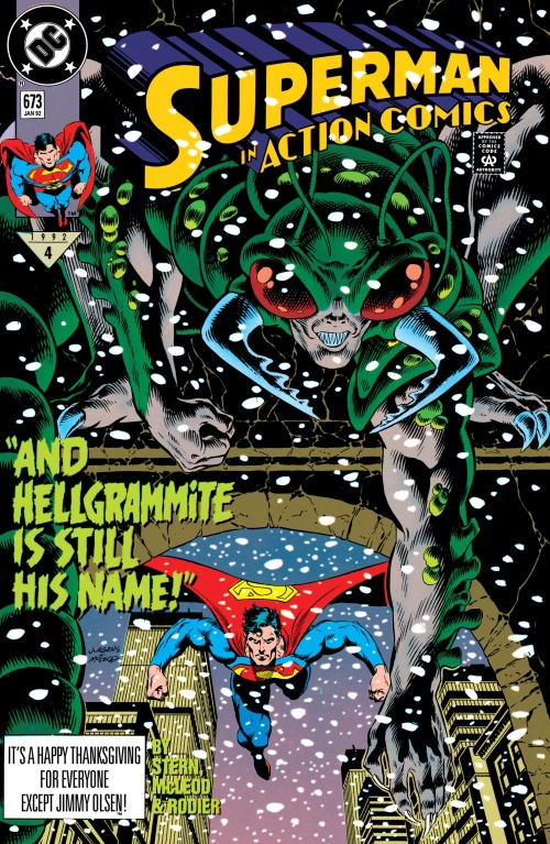 Insect Mimicry–Hellgrammite-Action Comics V1 #673