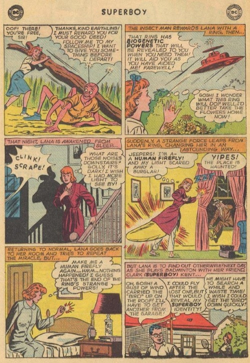 Insect Mimicry–Insect Queen-Superboy V1 #124