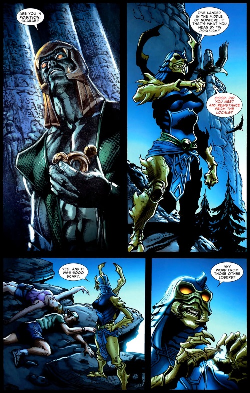 Insect Mimicry–Scarab-Annual Thor V3 #1 (2009)