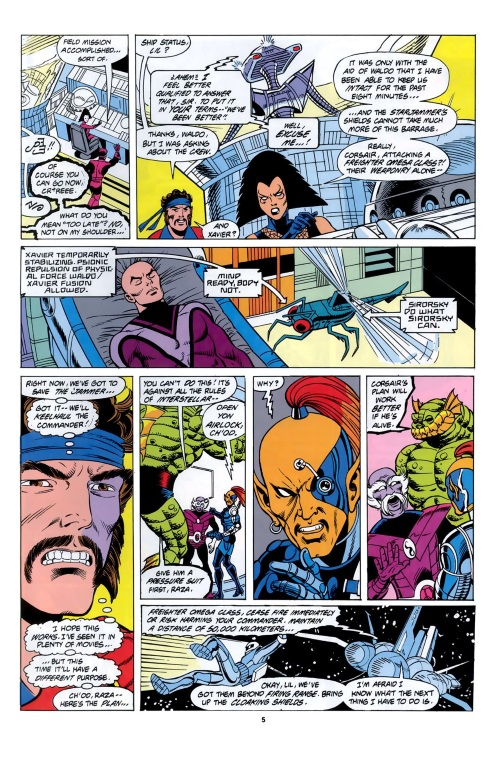 Insect Mimicry–Sikorsky-X-Men - Spotlight on the Starjammers #1