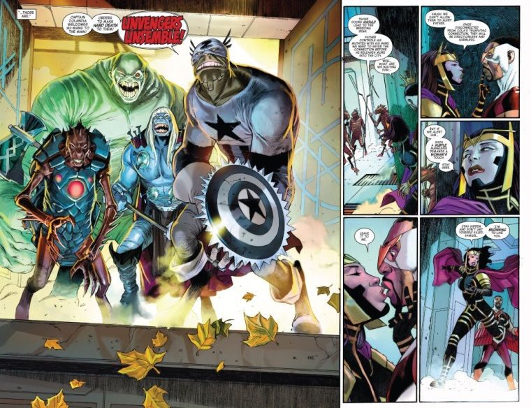 Insect Mimicry–Zola Iron Man-Captain America V7 #23 (2014)
