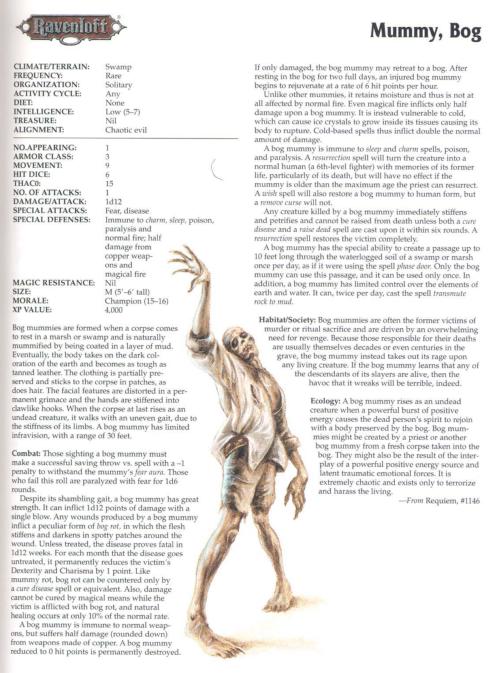 mummy-mimicry-bog-mummy-tsr-2173-monstrous-compendium-annual-volume-4