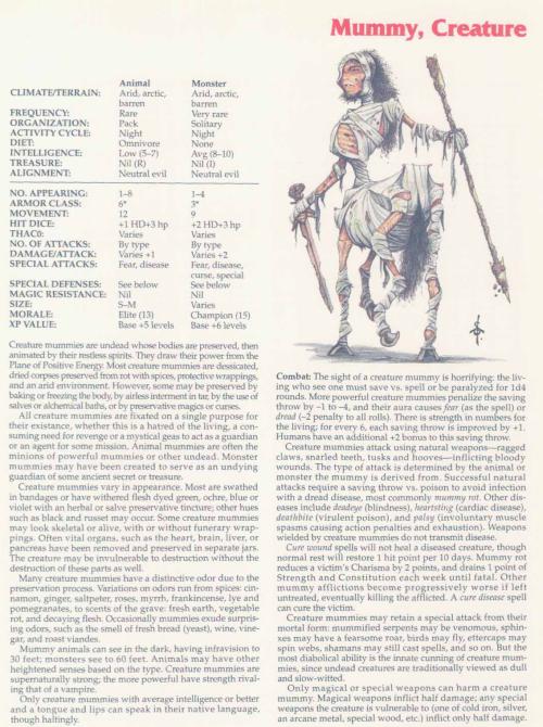 mummy-mimicry-creature-mummy-tsr-2158-monstrous-compendium-annual-volume-2