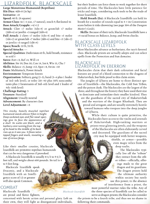 reptile-mimicry-blackscale-lizardfolk-dd-3-5-monster-manual-iii