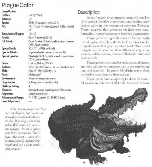 reptile-mimicry-plague-gator-creature-collection-iii-savage-bestiary