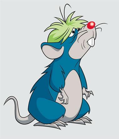 Rodent Mimicry-DC-Krypto-Jimmy the Rat
