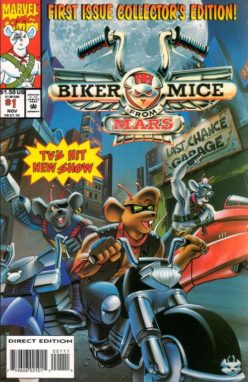 Rodent Mimicry-Marvel-Biker Mice From Mars V1 #1