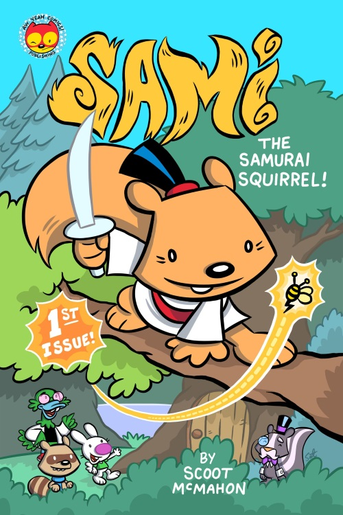 Rodent Mimicry-Sami the Samurai Squirrel #1 (Aw Yeah)