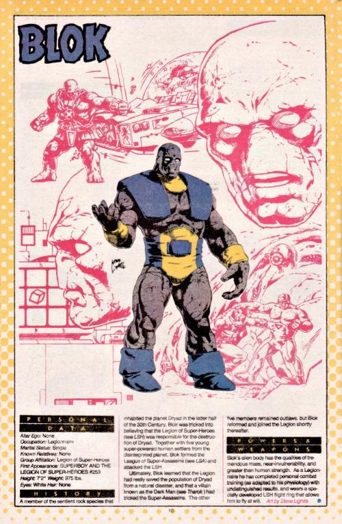 Stone Mimicry-Blok-DC Who's Who #3 (DC)